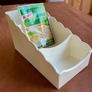 Tupperware Place for Packets Holder/Divider